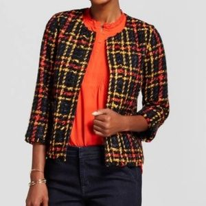 A New Day Cropped Tweed Jacket